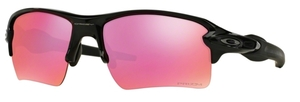 Oakley Flak 2.0 XL OO9188 06 Polished Black with Prizm Trail Lenses