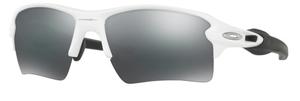 Oakley Flak 2.0 XL OO9188 54 Polished White with Black Iridium Lenses