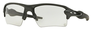 Oakley Flak 2.0 XL OO9188 16 Steel with Clear to Black Photochromic Lenses