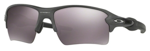 Oakley Flak 2.0 XL OO9188 60 Steel with Polarized Prizm Daily Lenses