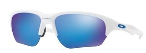 Oakley FLAK BETA OO9363 03 Polished White / Sapphire Iridium