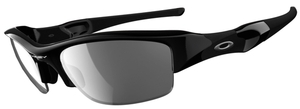 Oakley Flak Jacket OO9008 Jet Black with Polarized Black Iridium Lenses