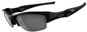 Oakley Flak Jacket OO9008 Jet Black with Black Iridium Lenses 03-881