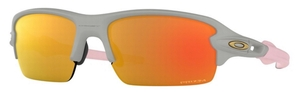 Oakley Jr. Flak XS Junior OJ9005 Matte Cool Grey / prizm ruby