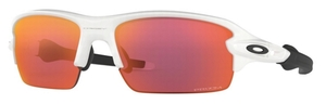 Oakley Jr. Flak XS Junior OJ9005 Polished White / Prizm Field