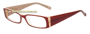 Continental Optical Imports Fregossi 383 Burgundy