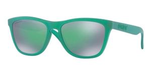 Oakley Frogskins OO9013 C6 Gamma Green with Prizm Jade Lenses