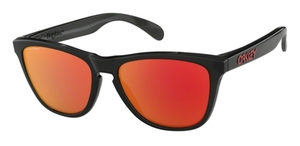 Oakley Frogskins OO9013 C9 Black Ink with Prizm Ruby