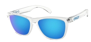 Oakley Frogskins OO9013 D0 Crystal Clear with Prizm Sapphire