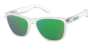 Oakley Frogskins OO9013 D6 Crystal Clear with Prizm Jade
