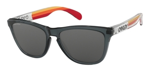 Oakley Frogskins OO9013 D8 Crystal Black with Prizm Black