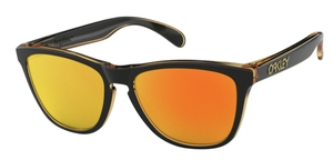 Oakley Frogskins OO9013 D9 Matte Black with Fire Iridium