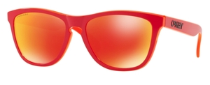 Oakley Frogskins OO9013 E0 Matte Red with Prizm Ruby