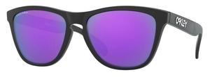 Oakley Frogskins OO9013 Matte Black / prizm violet