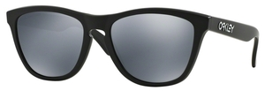 Oakley Frogskins OO9013 24-297 Matte Black with Polarized Black Iridium Lenses