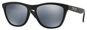Oakley Frogskins OO9013 24-297 Matte Black with Polarized Black Iridium Lenses