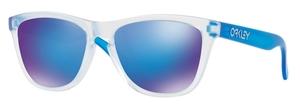 Oakley Frogskins OO9013 B2 Matte Clear with Sapphire Iridium Lenses