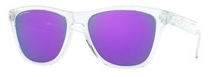 Oakley Frogskins OO9013 Polished Clear / prizm violet