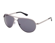 Tom Ford FT0144 Marko Shiny Light Ruthenium with Polarized Smoke Lenses