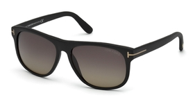 Tom Ford FT0236 Matte Black with Polarized Smoke Lenses