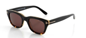 Tom Ford FT0237 Black with Roviex Brown Lenses