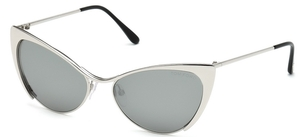 Tom Ford FT0304 Shiny Palladium/Smoke Mirror