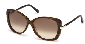 Tom Ford FT0324 Dark Brown with Gradient Brown Lenses