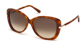 Tom Ford FT0324 Havana with Gradient Brown Lenses