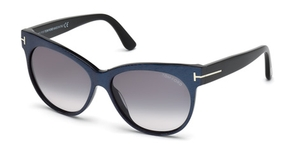 Tom Ford FT0330 Matte Violet with Gradient Smoke Lenses