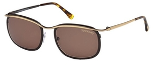 Tom Ford FT0419 Gold Dark Brown/Brown