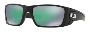 Oakley Fuel Cell OO9096 J4 Matte Black with Prizm Jade Lenses