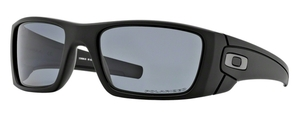 Oakley Fuel Cell OO9096 05 Matte Black with Polarized Grey Lenses