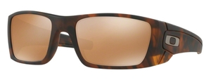 Oakley Fuel Cell OO9096 H5 Matte Brown Tortoise with Tungsten Iridium Lenses