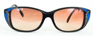 Revue Retro G17 Black/Blue with Brown Gradient Lenses