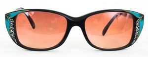 Revue Retro G17 Black/Green with Brown Lenses