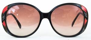 Revue Retro G21 Black with Brown Gradient Lenses