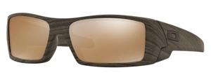 Oakley GasCan OO9014 07 Woodgrain with Tungsten Iridium Polarized Lenses