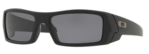 Oakley GasCan OO9014 Matte Black with Grey Polarized Lenses