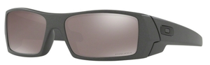 Oakley GasCan OO9014 Steel with Prizm Black Polarized Lenses