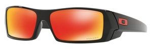 Oakley GasCan OO9014 44 Polished Black with Prizm Ruby Lenses