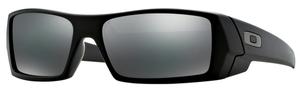 Oakley GasCan OO9014 24-435 Matte Black with Black Iridium Lenses