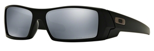 Oakley GasCan OO9014 Matte Black with Black Iridium Polarized Lenses