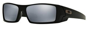 Oakley GasCan OO9014 12-856 Matte Black with Black Iridium Polarized Lenses