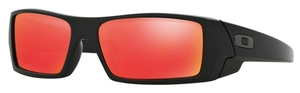 Oakley GasCan OO9014 26-246 Matte Black with Ruby Iridium Lenses