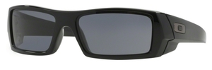 Oakley GasCan OO9014 Polished Black with Grey Lenses