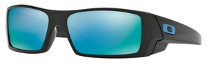 Oakley GasCan OO9014 15 Polished Black with Prizm Deep h20 Polarized Lenses