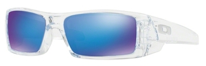 Oakley GasCan OO9014 17 Polished Clear with Sapphire Iridium Lenses