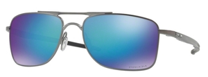 Oakley Gauge 8 OO4124 06 Matte Gunmetal with Prizm Sapphire Polarized Lenses