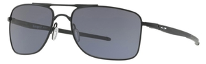 Oakley Gauge 8 OO4124 01 Matte Black with Grey Lenses