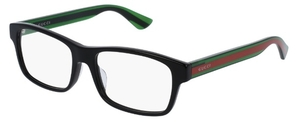 Gucci GG0006OA Black/Green/Red